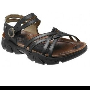 Keen Naples Sandal Black Size 8